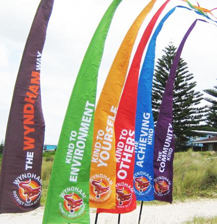 Digital School Flags